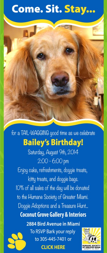 Bailey's Invite