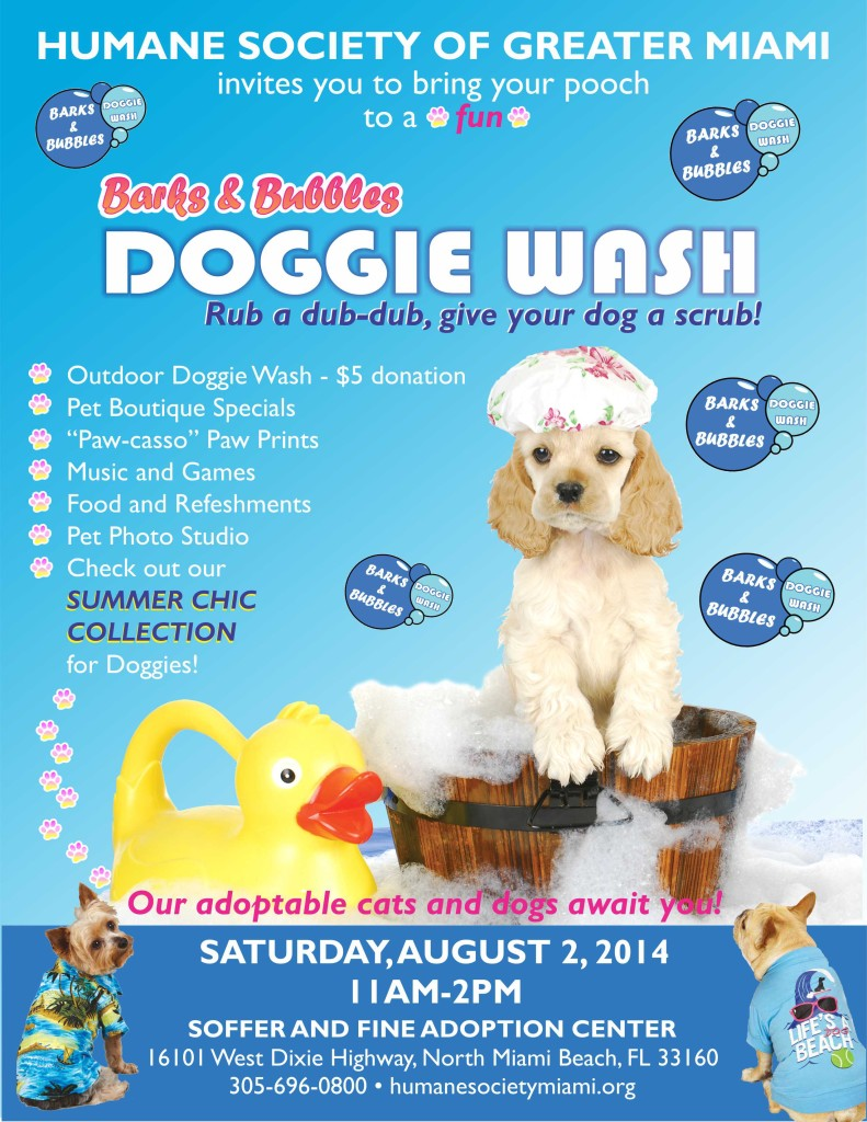 Doggie Wash 8x11