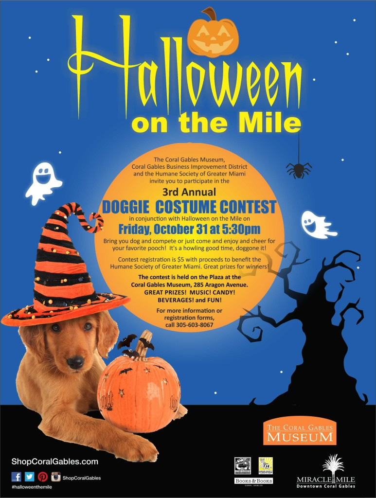 Halloween on the Mile Poster