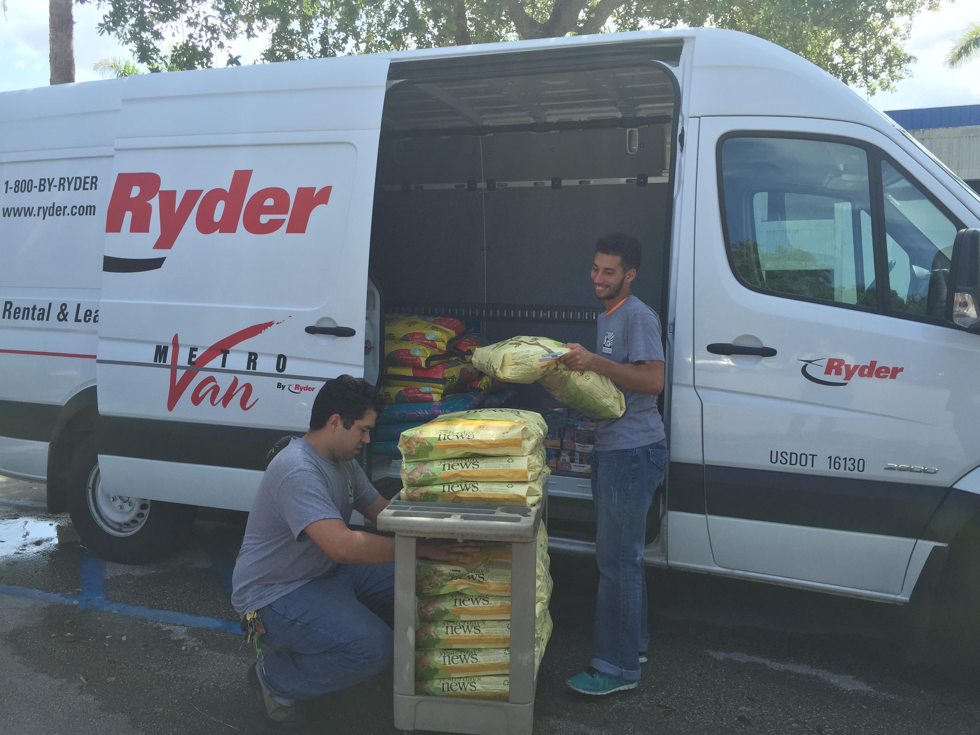 Ryder Donation