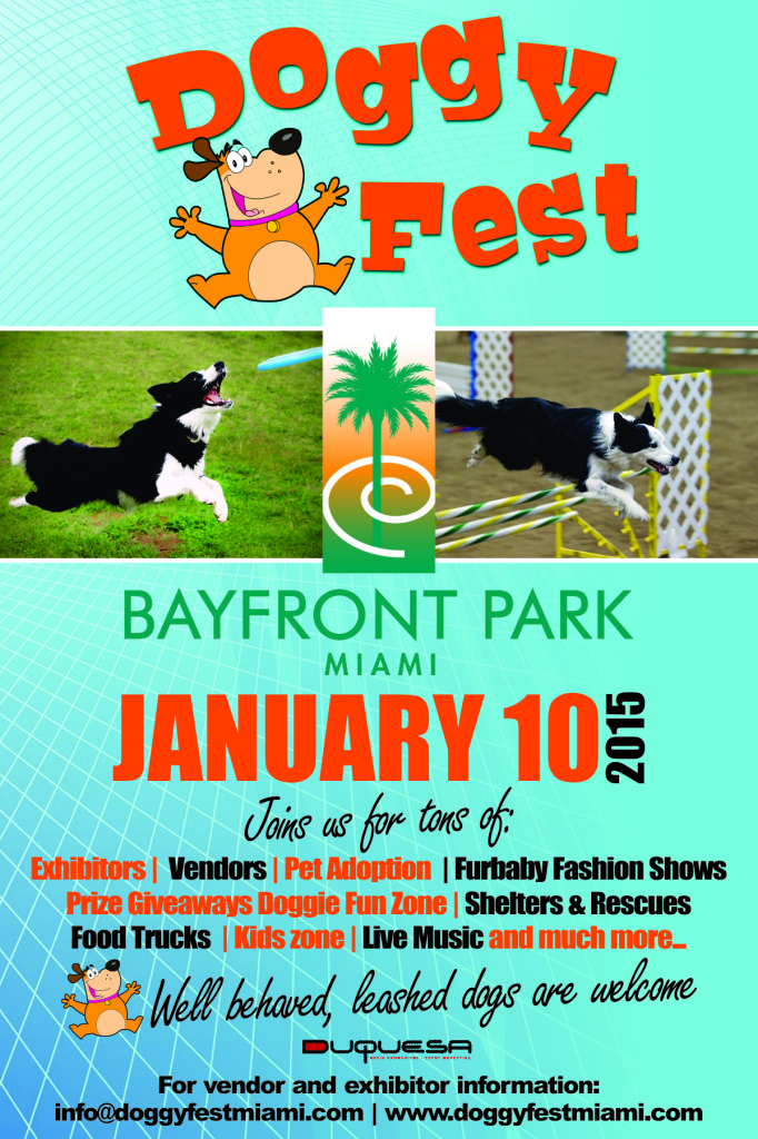 DOGGY FEST POSTER