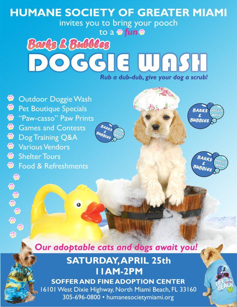 april Doggie Wash 8x11