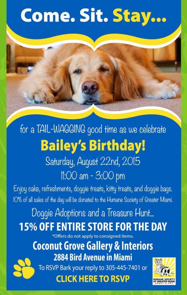 Bailey's Bday Party