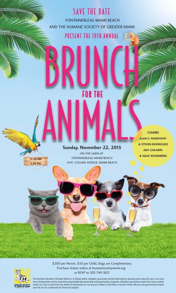 15HSGM003 Brunch Save the Date