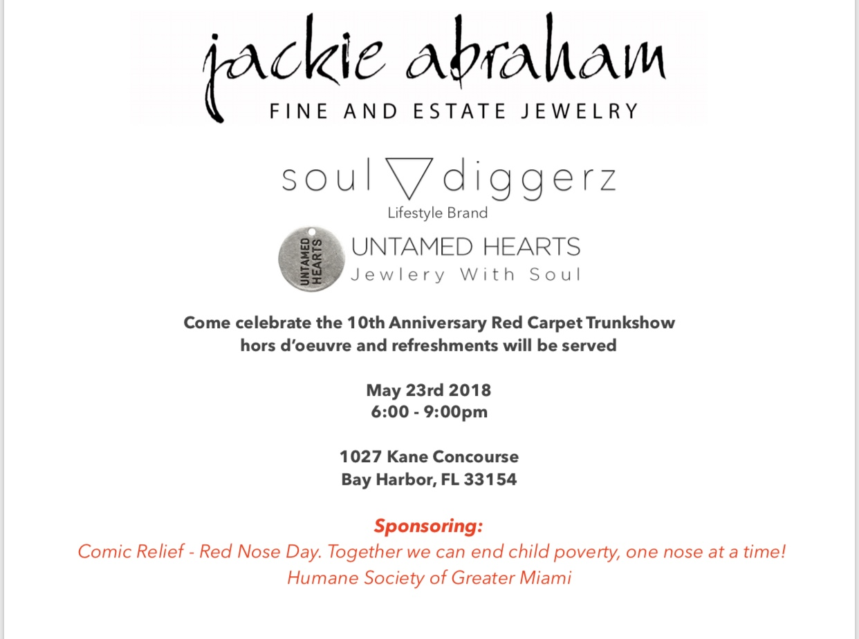 Jackie Abraham event May 23