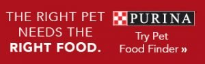 PURI_PCG_purinapetfoodfinder_Right-Pet-Right-Food-Text_Try-Pet-Food-Finder_320x100_Banner_JPG