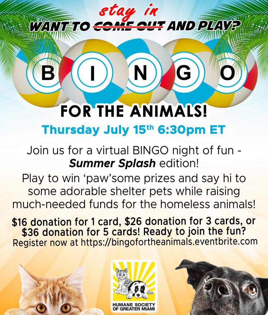 Bingo Eblast Invite – July 2021